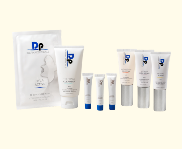 Dp Dermaceuticals Anti-Aging Starter Kit in Luxe pouch