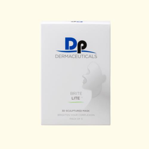 DP Dermaceuticals Brite Lite 3D sculptured masker, Box of 5